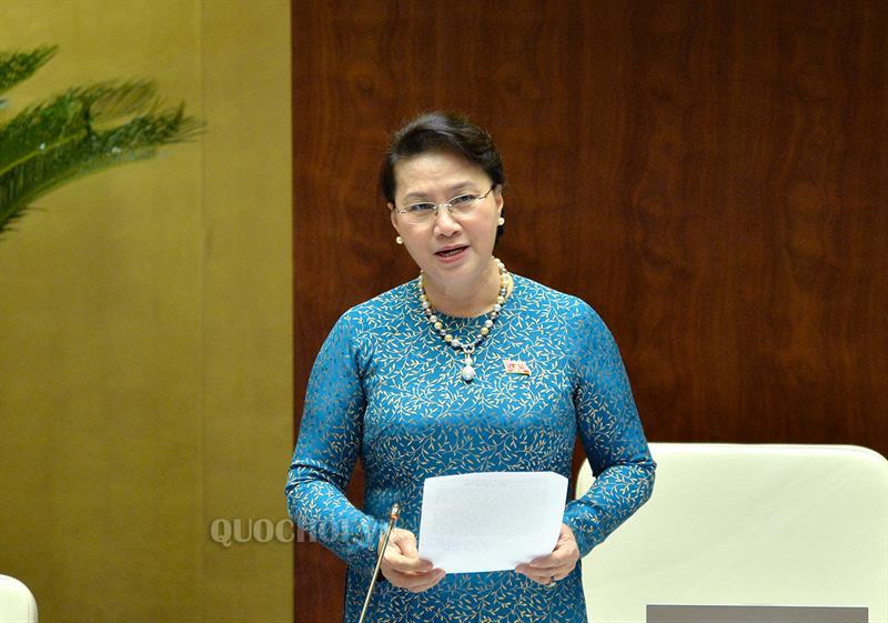Chủ tịch Quốc hội phát biểu bế mạc phiên chất vấn