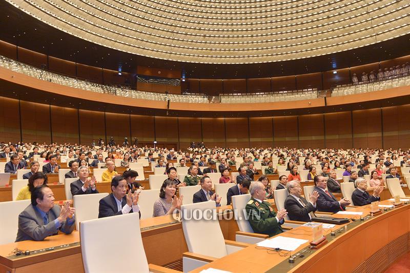 Bế mạc kỳ họp thứ 6 Quốc hội khóa XIV: Kỳ họp tạo niềm tin về sự đoàn kết, nhất trí, phấn đấu hoàn thành các nhiệm vụ của nhiệm kỳ ảnh 3