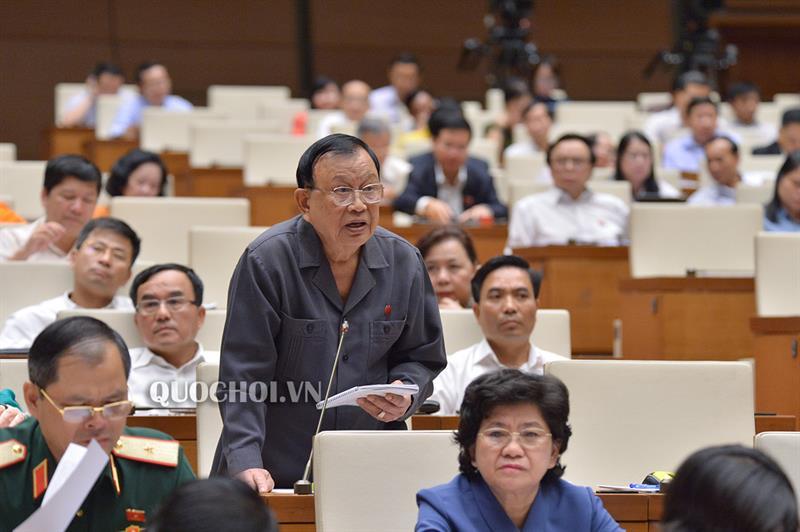 Đại biểu Nguyễn Văn Được chỉ rõ 3 vấn đề cần giải quyết khi triển khai công an xã, thị trấn chính quy