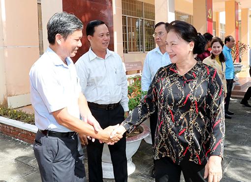 Chủ Tịch Quốc Hội Nguyễn Thị Kim Ngan Tiếp Xuc Cử Tri Huyện Phong điền Thanh Phố Cần Thơ