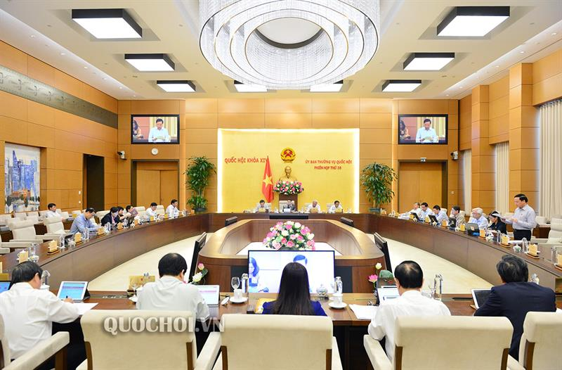 Phiên họp thứ 38 của Ủy ban Thường vụ Quốc hội