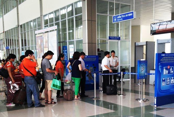 hành vi mất antt tại sân bay